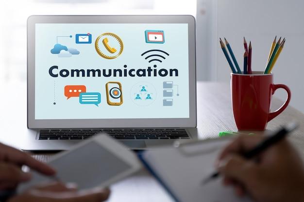 People communication iot (internet of things) rede de comunicação social media