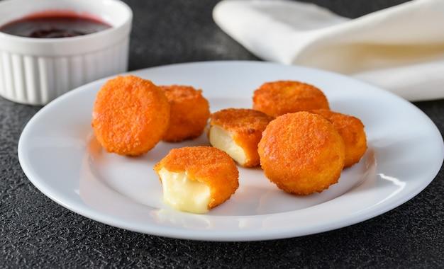Pepitas de camembert