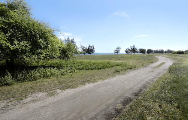 Pequena estrada