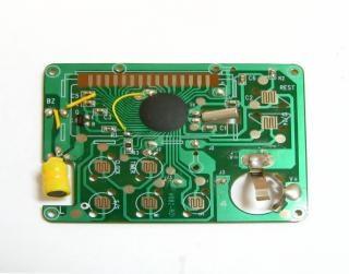 Pequena placa de circuito