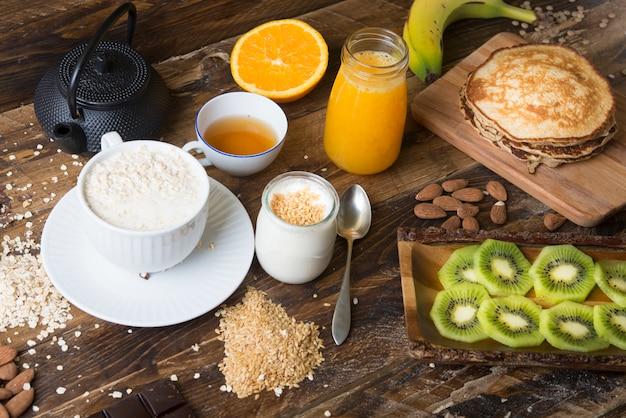 Pequeno-almoço healhty