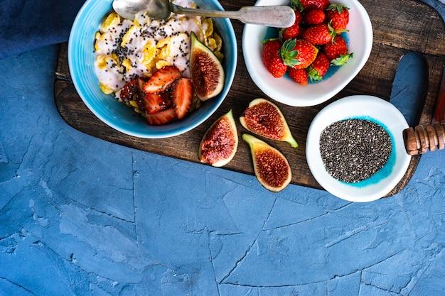Pequeno-almoço saudável tradicional