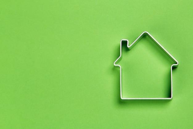 Pequeno modelo abstrato de casa