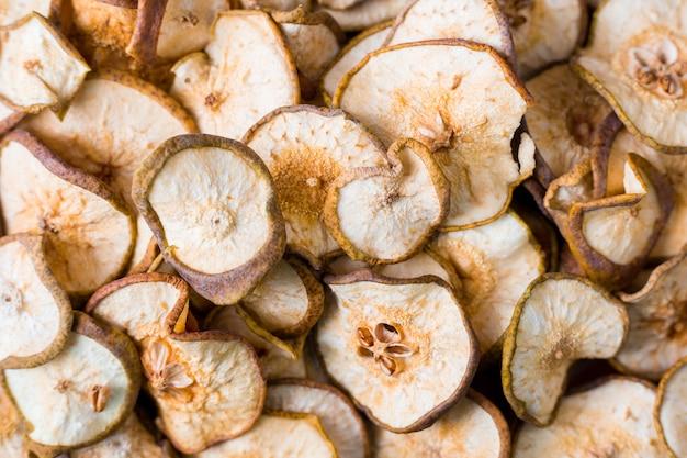 Pêra de frutas secas, usada para fazer compotas