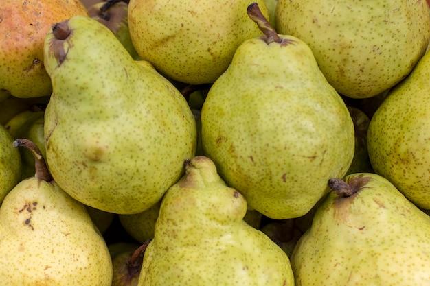Pera fresca fruta abstrata colorido padrão textura de fundo