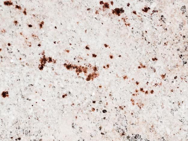 Perda de piso de mármore manchado