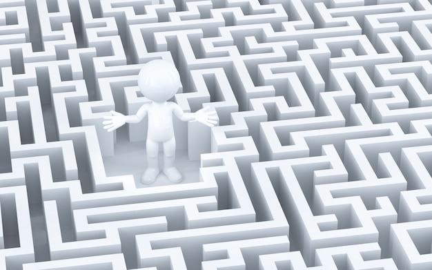 Perdido no labirinto