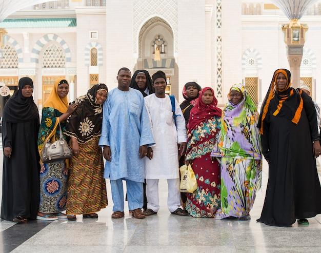 Peregrinos muçulmanos de países africanos se reuniram para realizar