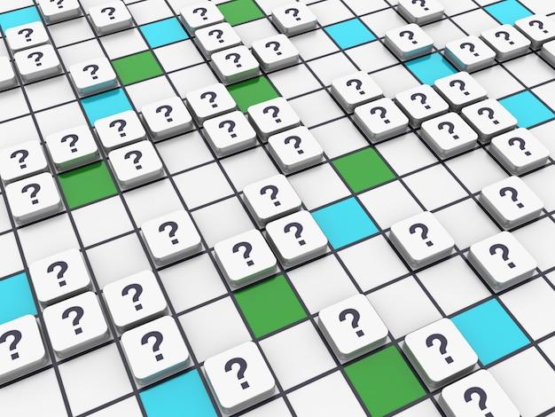 Pergunta crossword