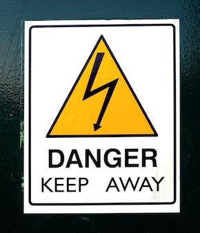 Perigo manter afastado