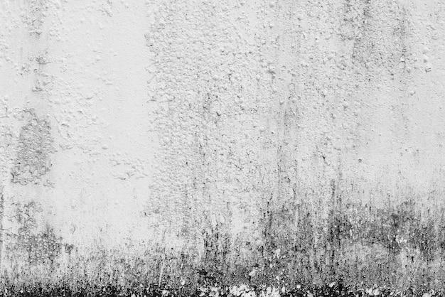 Período sujo de período em cimento branco ou textura de parede de concreto