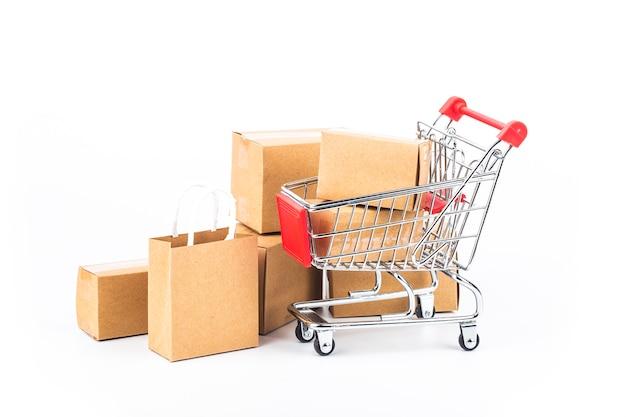 Permite que os consumidores comprem diretamente mercadorias de um vendedor pela internet