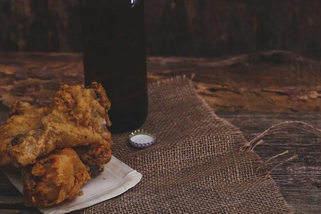 Pernas de frango deliciosas