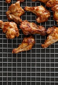 Pernas de frango frito