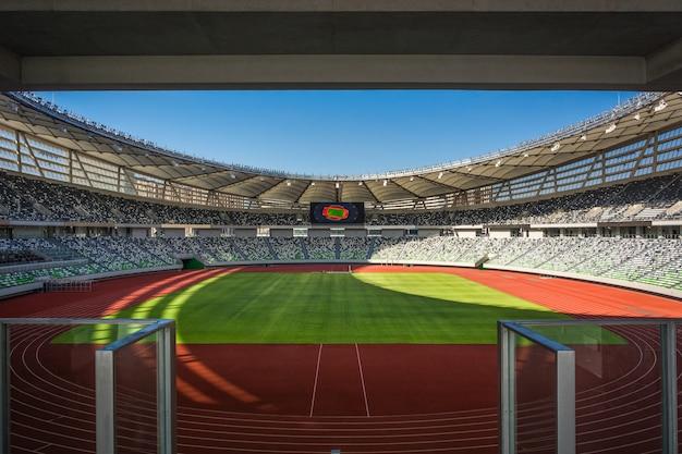 Perspectiva de assentos do estádio
