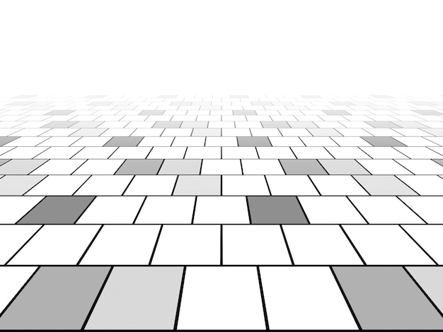 Perspectiva de fundo da linha de grade