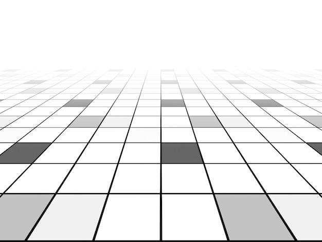 Perspectiva de fundo da linha de grade Foto Premium
