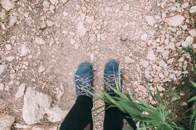 Pés, de, hiker