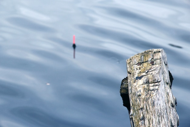 Pesca flutuador borrão