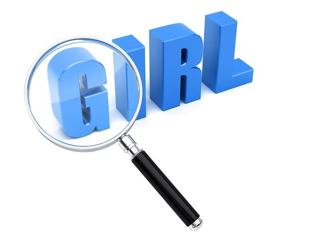 Pesquisa de garotas procurar mulher