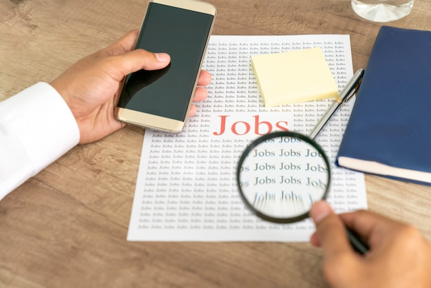 Pesquise ou escolha um trabalho