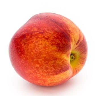 Pêssego. fruta com isolado no branco