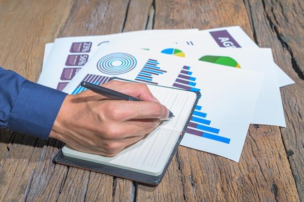 Pessoas até que registrem seu trabalho e documentem o crescimento do negócio
