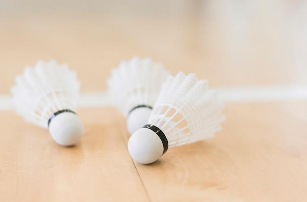 Peteca para competição de badminton