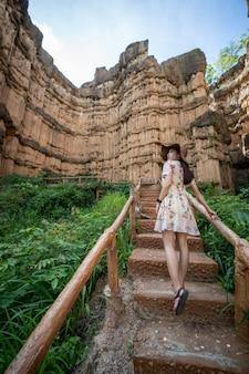 Pha chor (tailândia grand canyon) em chiang mai, tailândia