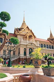 Phra borom maha ratcha wang, o grande palácio de bangkok, tailândia