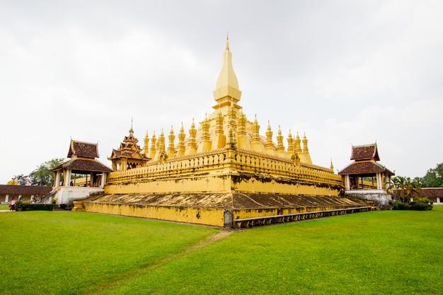 Phra that luang teple em vientiane, república popular democrática do laos