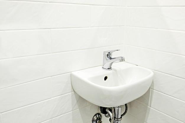 Pia do banheiro em casa
