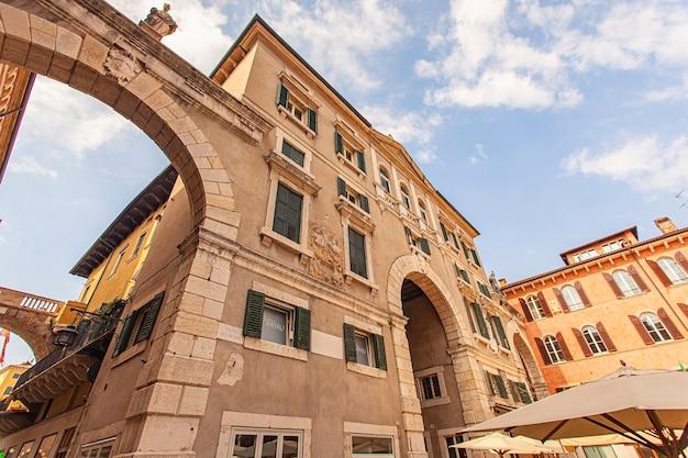 Piazza dei signori, praça signori em verona, itália