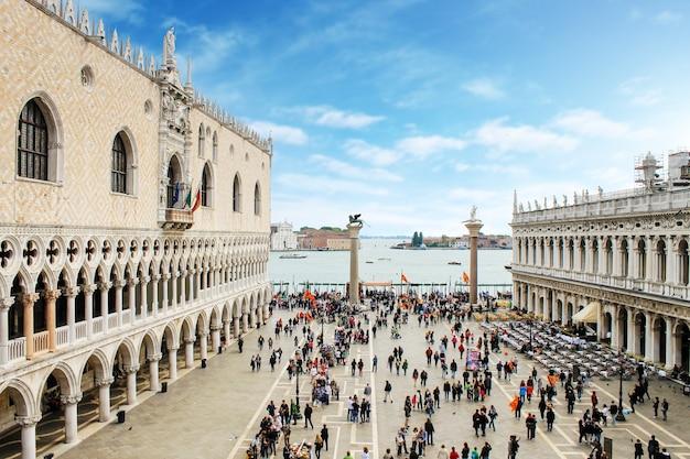 Piazza san marco em veneza, itália