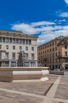 Piazza vecchia em bergamo