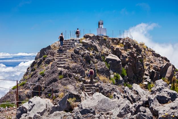 Pico ruivo, ilha da madeira