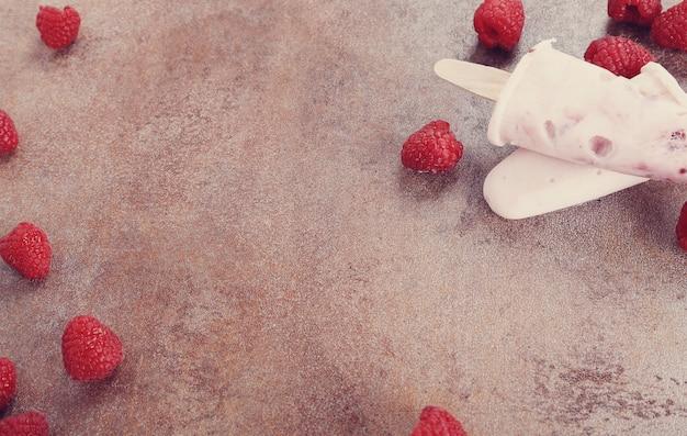 Picolé de iogurte