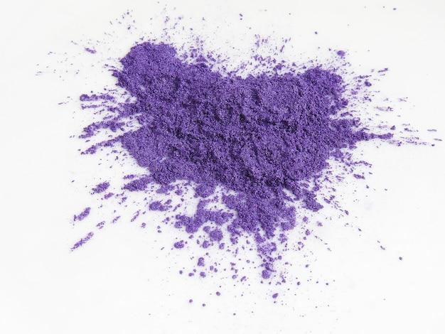Pigmentos de mica violeta em pó para cosméticos