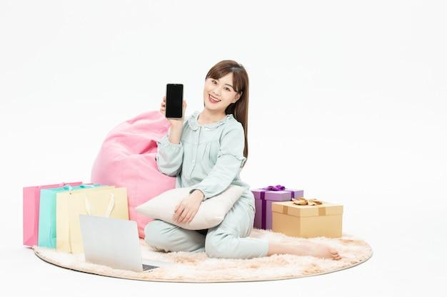 Pijama beleza casa celular compras online