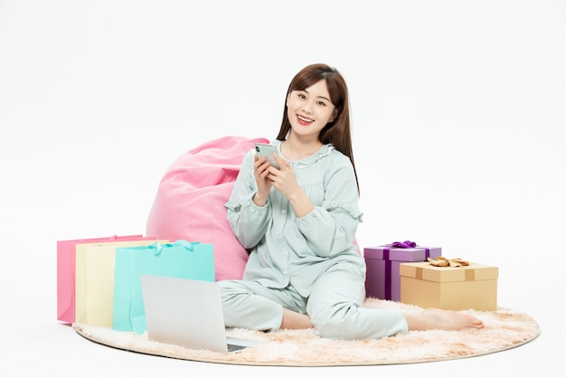 Pijama beleza casa compras online