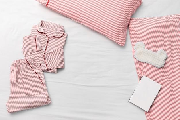 Pijama para pijama de tecido de algodão