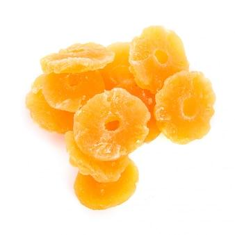 Pilha círculo nutrição textura amarelo pequeno