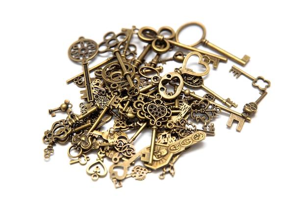 Pilha das chaves antigas
