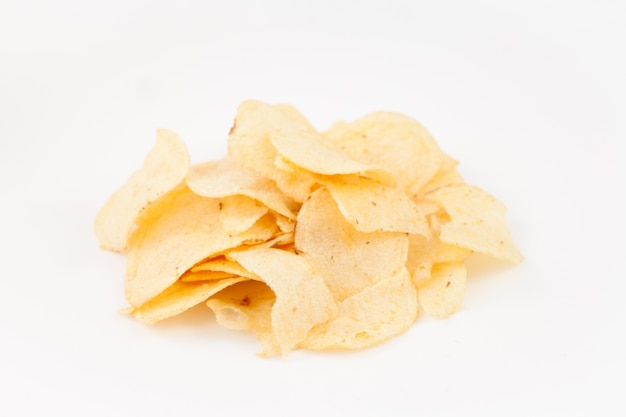 Pilha de batatas fritas