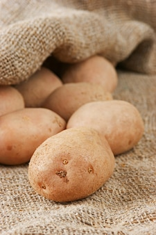 Pilha de batatas
