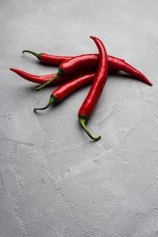 Pilha de chili quente