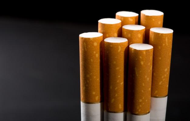 Pilha de cigarros
