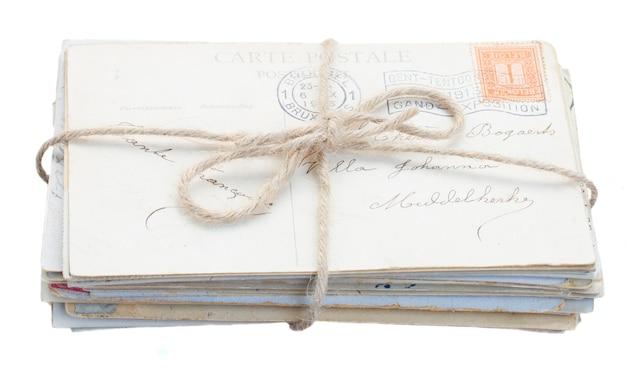 Pilha de correspondência velha isolada
