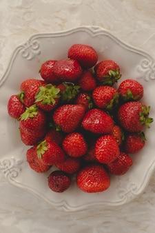 Pilha de deliciosas frutas