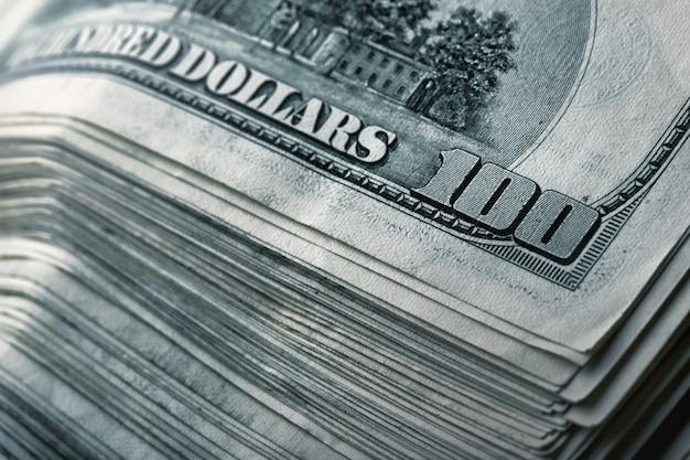 Pilha de fundo de dinheiro